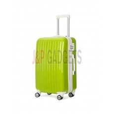 AIRCROSS Luggage A55 Light Green Hard Case Expandable Trolley Luggage - 24""