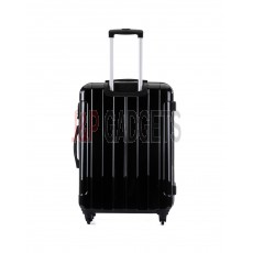 "AIRCROSS 3PC Set Luggage i30 Black Hard Case Trolley Luggage - 19""23""& 26"""