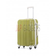 AIRCROSS Luggage i30 Green Hard Case Trolley Luggage - 23""