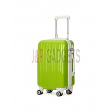 AIRCROSS Luggage A55 Light Green Hard Case Expandable Trolley Luggage - 20""