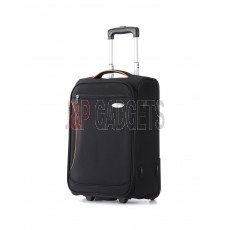 """AIRCROSS Luggage S10 Black Hard Case Trolley Luggage - 20"""""""