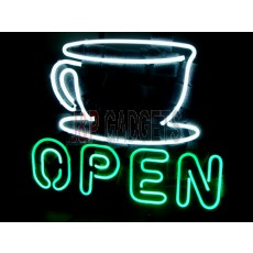 "NEON Sign - Open Sign 16""x14"""