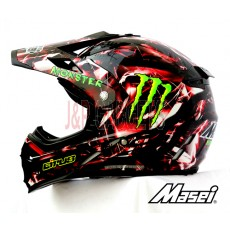 MASEI & HJC CIRUS 307 MONSTER ATV Motocross Motorcycle KTM Helmet - BS