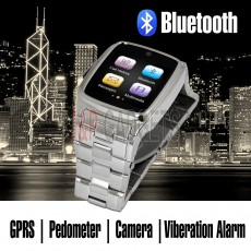 Classic Stainless Steel Smart Watch