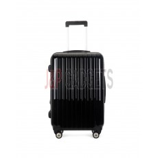 "AIRCROSS 2PC Set Luggage A55 Black Hard Case Expandable Trolley Luggage - 20""24"""