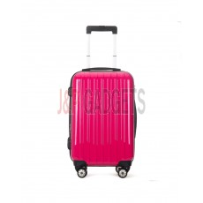 "AIRCROSS 2PC Set Luggage A55 Rose Hard Case Expandable Trolley Luggage - 24""26"""