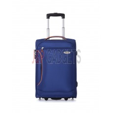 """AIRCROSS Luggage S10 Blue Hard Case Trolley Luggage - 20"""""""