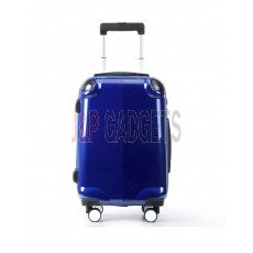 AIRCROSS Luggage A58T Blue Hard Case Trolley Luggage - 20""