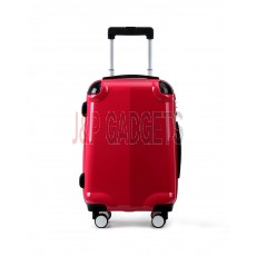 """AIRCROSS Luggage A58T Light Red Hard Case Trolley Luggage - 20"""""""