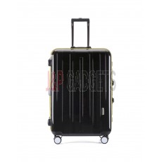 AIRCROSS Luggage SLK10 Black Hard Case Trolley Luggage - 28""