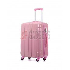 """AIRCROSS Luggage i30 Pink  Hard Case Trolley Luggage - 26"""""""
