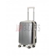 AIRCROSS Luggage A55 Grey Hard Case Expandable Trolley Luggage - 20""