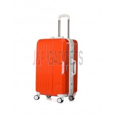 AIRCROSS Luggage A56 Orange Hard Case Trolley Luggage -24""