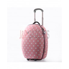 """AIRCROSS Luggage AN12 Pink Hard Case Trolley Luggage - 20"""""""