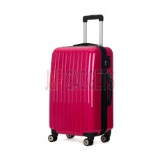 AIRCROSS Luggage A55 Rose Hard Case Trolley Luggage - 24""