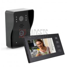 2.4GHz Wireless WIFI Door Bell Intercom with Control Monitor Screen System