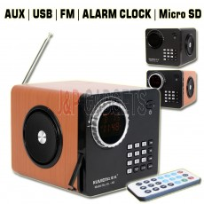 KLIVIEN Portable Multifunction Speaker / Calenda / Alarm Clock with Remote Control