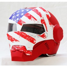 Masei 610 Hero USA Modular Motorcycle Helmet - DOT Approved