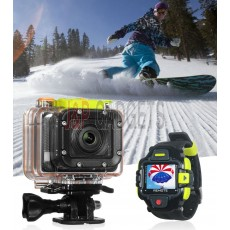 Xplore Full HD Action Camera Camcorder  + Live Watch Control XPC-A112W