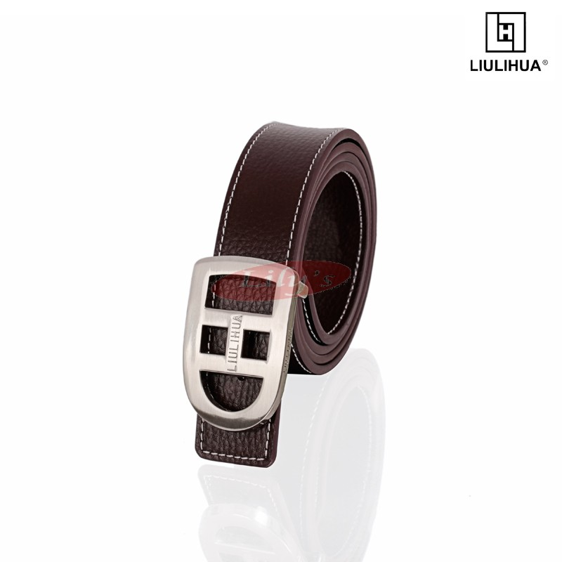 LLH -  Brown Calf Leather Male Belt