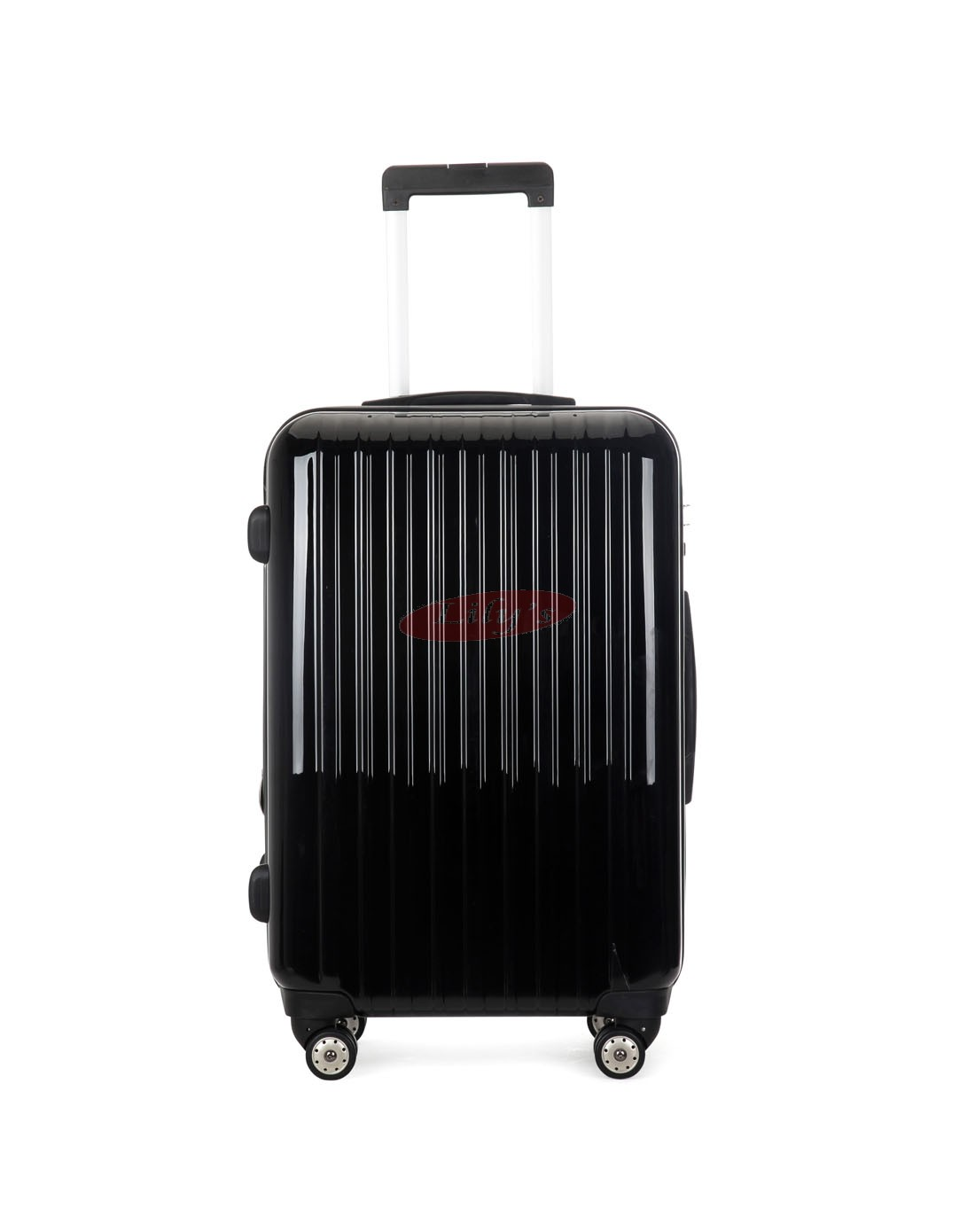 AIRCROSS Luggage A55 Black Hard Case Expandable Trolley Luggage - 24""
