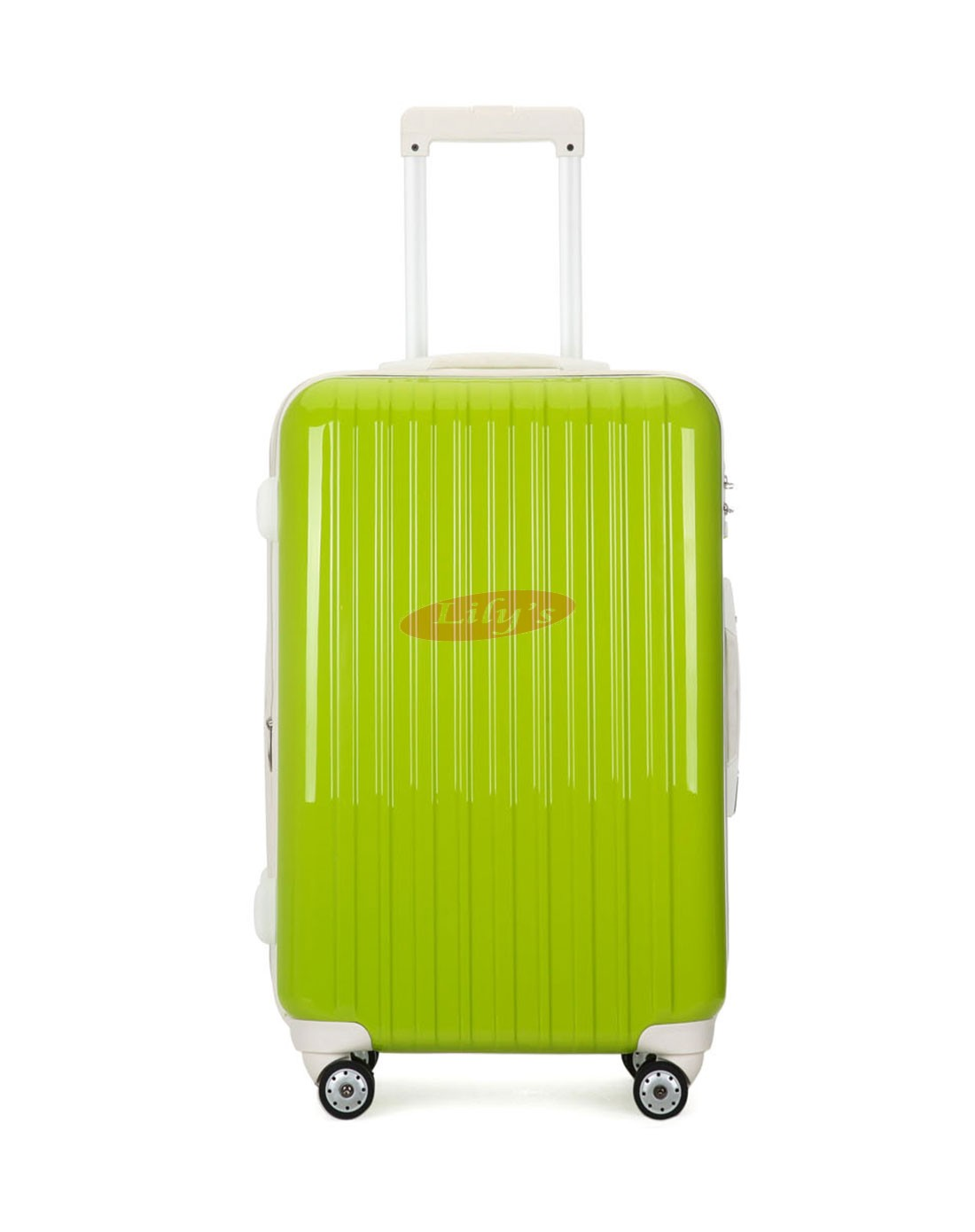 "AIRCROSS 3PC Set Luggage A55 Light Green Hard Case Expandable Trolley Luggage - 20""24""&26"""