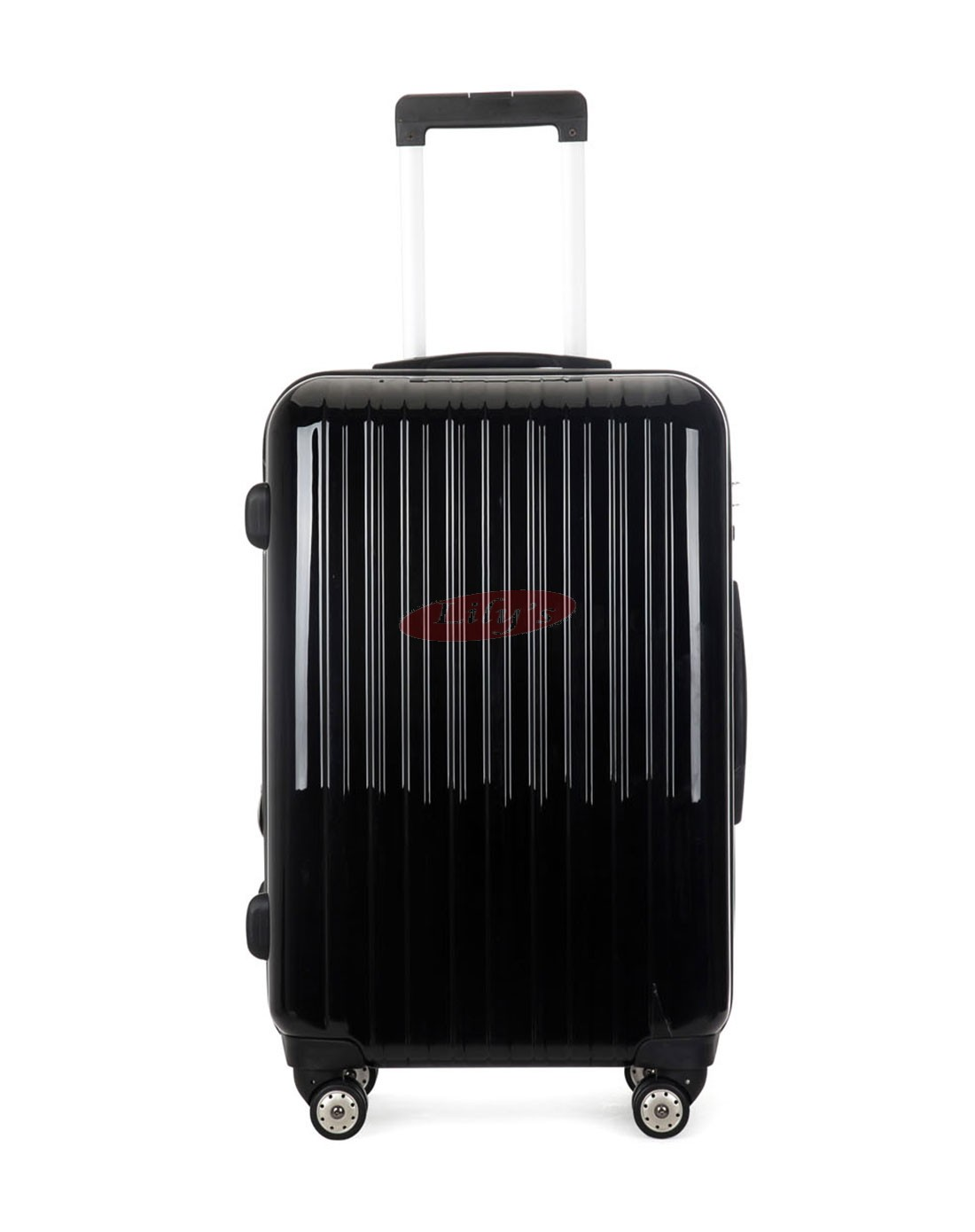 """AIRCROSS 3PC Set Luggage A55 Black Hard Case Expandable Trolley Luggage - 20""""24""""&26"""""""