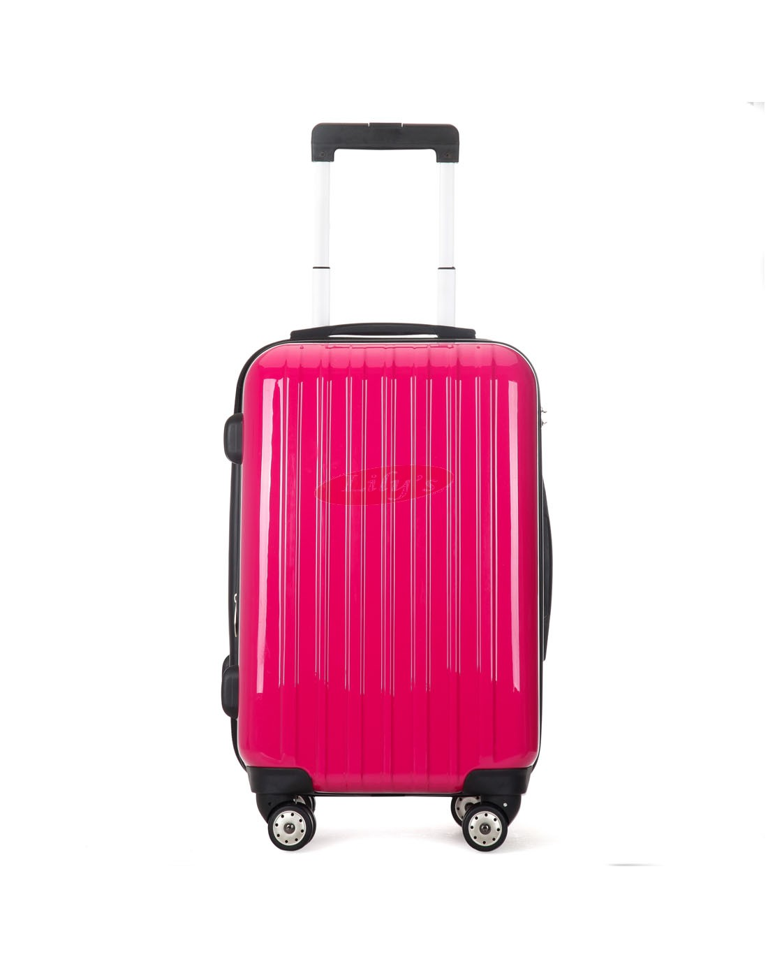"AIRCROSS 2PC Set Luggage A55 Rose Hard Case Expandable Trolley Luggage - 20""24"""