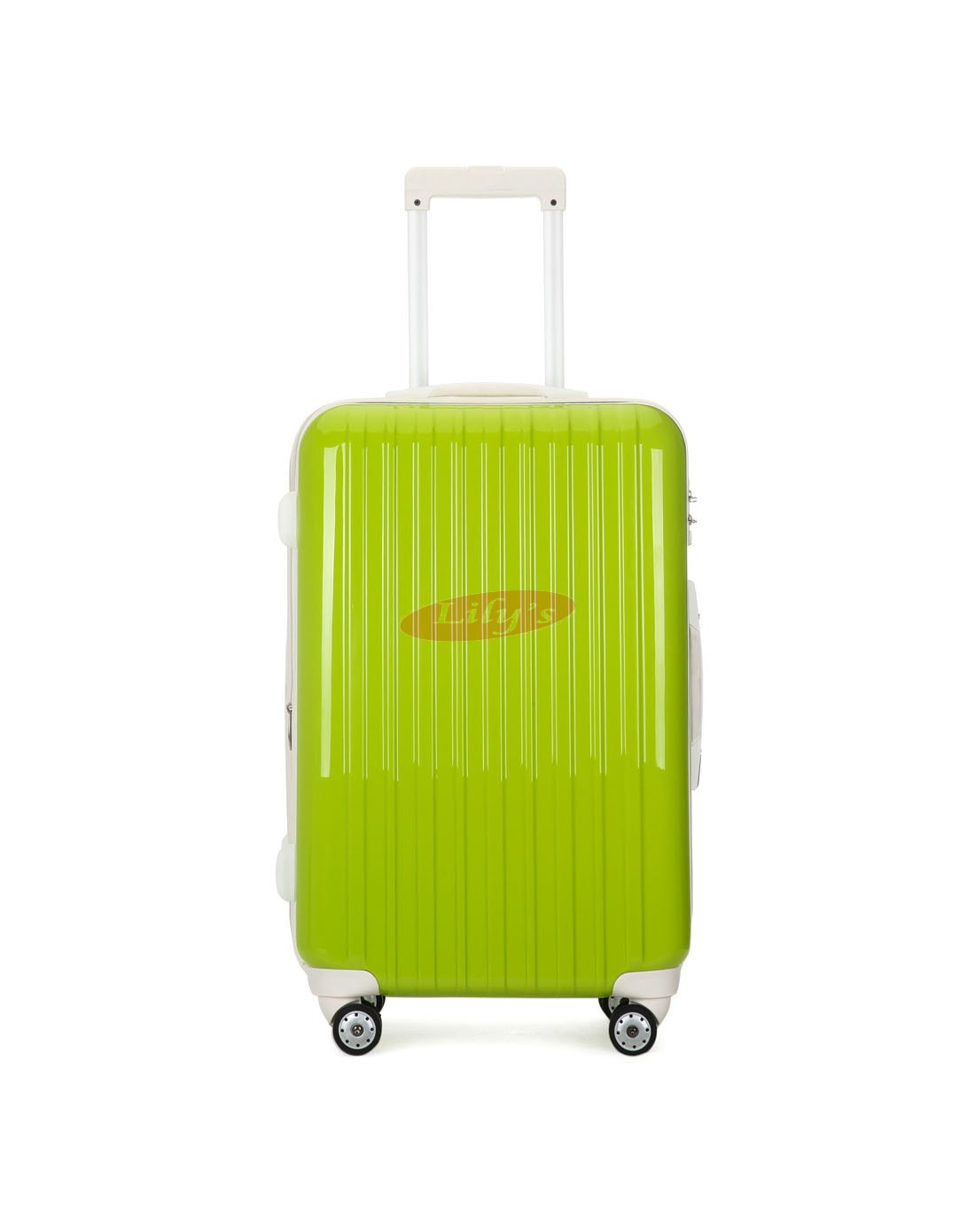 """AIRCROSS 2PC Set Luggage A55 Light Green Hard Case Expandable Trolley Luggage - 20""""26"""""""