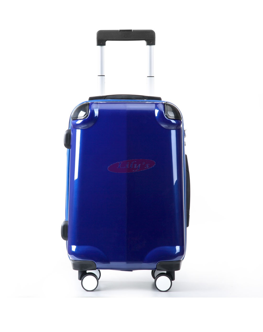 """AIRCROSS Luggage A58T Blue Hard Case Trolley Luggage - 20"""""""