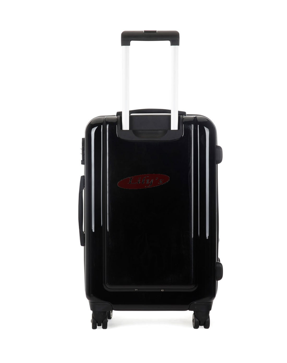 AIRCROSS Luggage A55 Black Hard Case Expandable Trolley Luggage - 26""