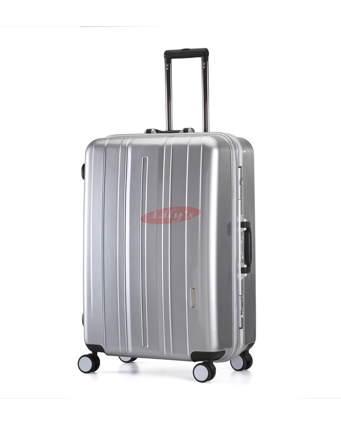 AIRCROSS Luggage SLK10 Silver Hard Case Trolley Luggage - 28""
