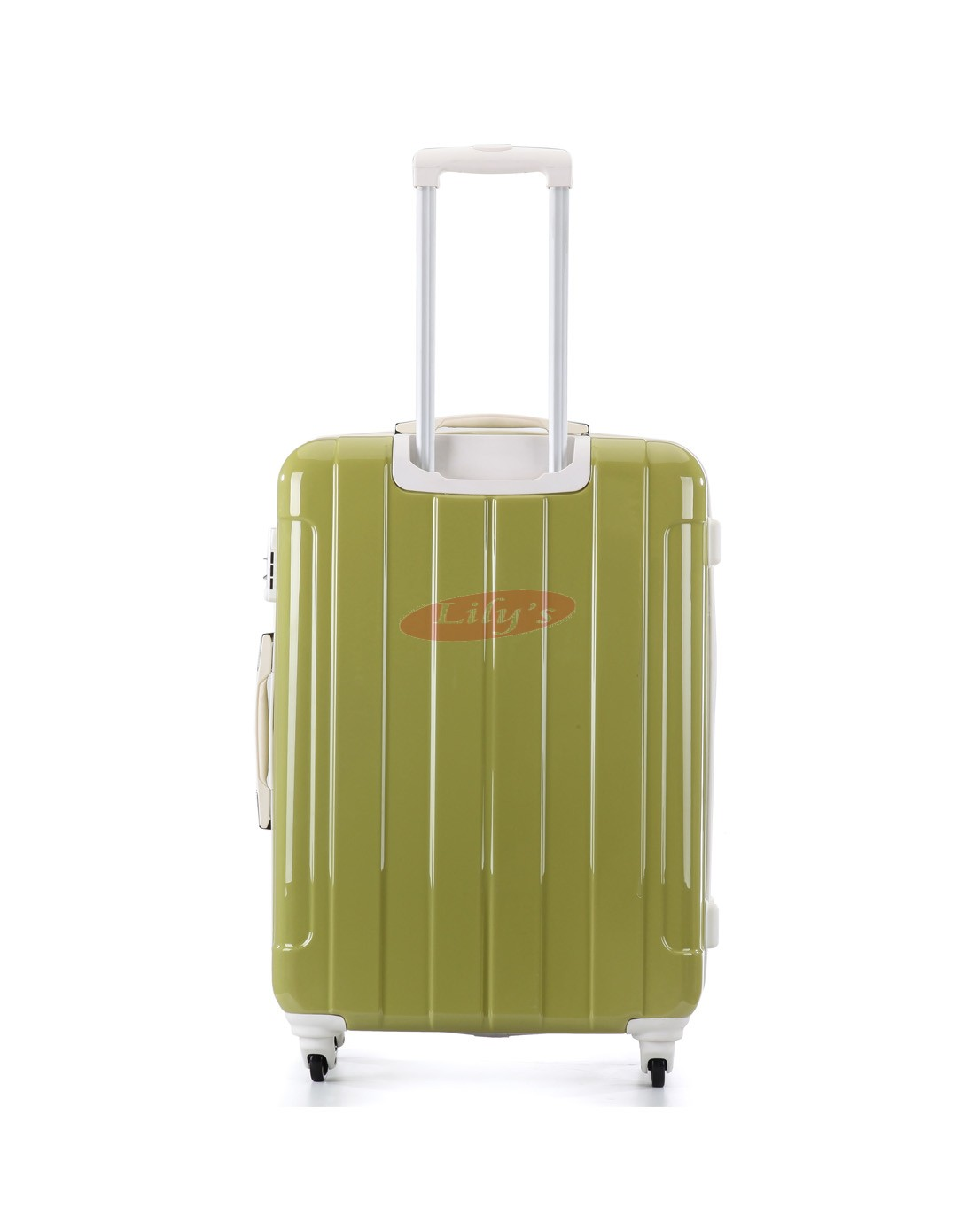 AIRCROSS Luggage A56 Green Hard Case Trolley Luggage -24""