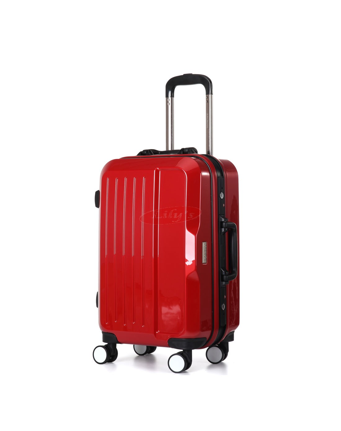 """AIRCROSS Luggage A56 Red Trolley Luggage Case - 20"""""""