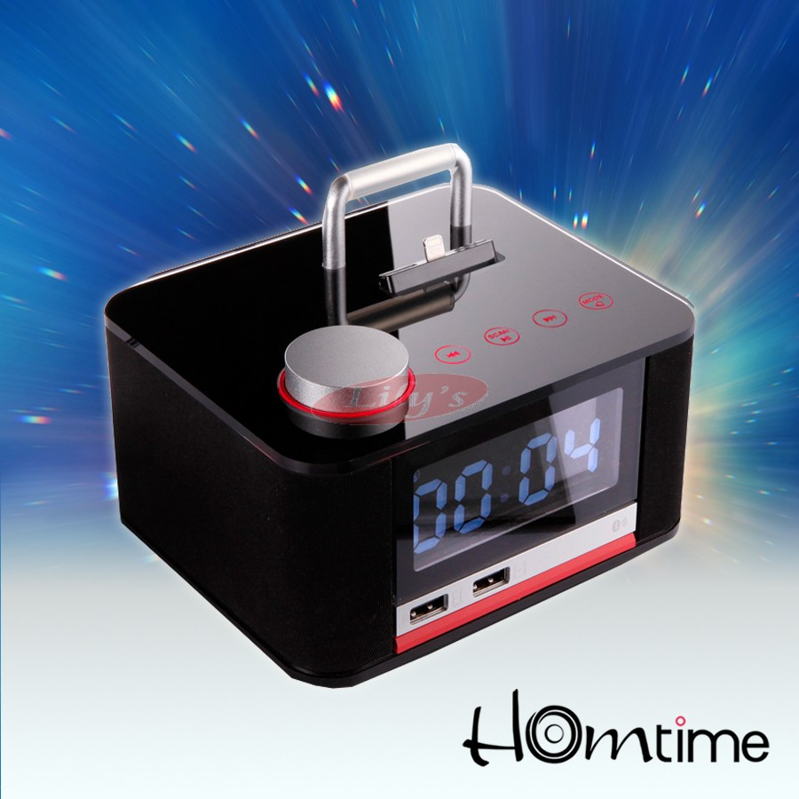 HOMTIME Apple Lighting Audio Dock Charger For iPhone 6S 6 & 5 / iPod / Android Devices
