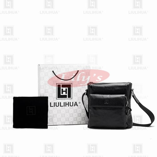 LLH Everyday Casual Leather Messenge Bag