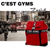 C'EAST GYMS GS-9381 Classic Neoprene Red Backpack - Great Gift Idea