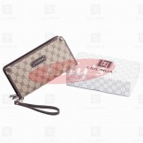 LLH Fortune Canvas Zip Around Wallet