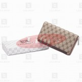 LLH Fortune Canvas Zip Wallet