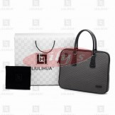 LLH Lattice Embroldery Bussiness Briefcase