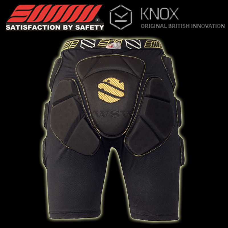 Sunny Pro KNOX Shorts Bum Pad  Hip Protector - CE Approved Sports Protection