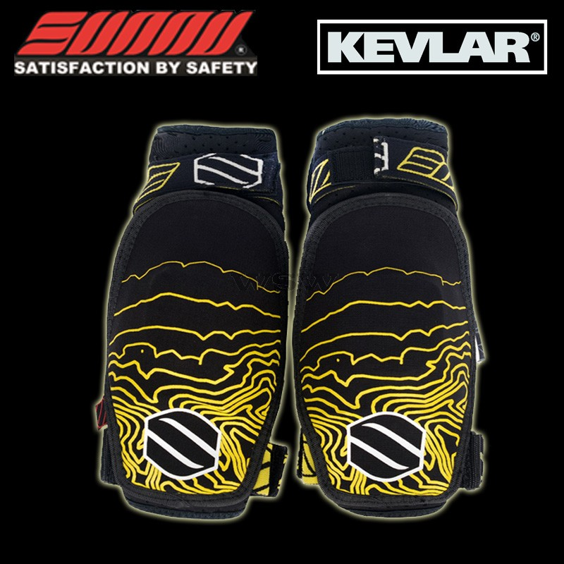 Sunny Pro CE approved KEVLAR High Strength Elbow Protector Protection Pad