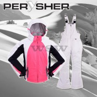 PERYSHER Extra Warm Kids Snowboard Ski Jacket and Pants Combo for Children