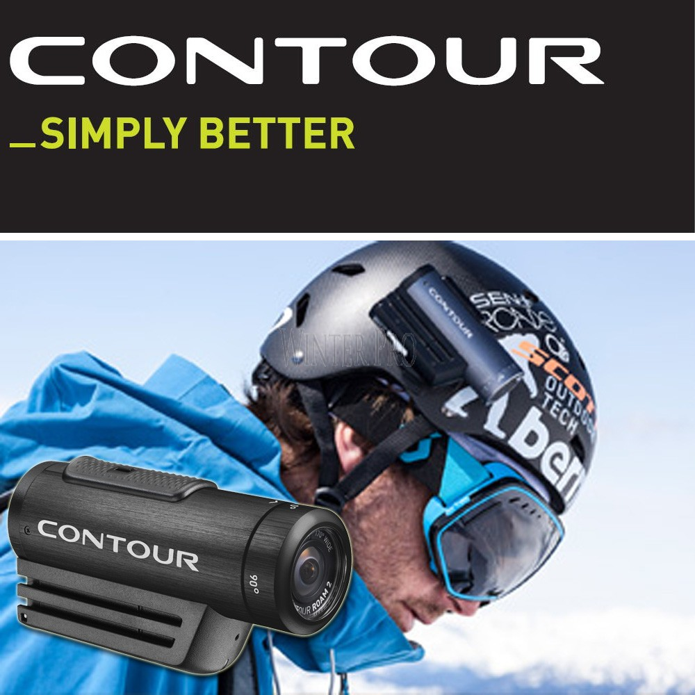Contour ROAM2 Waterproof Action Video Camcorder Camera - Black