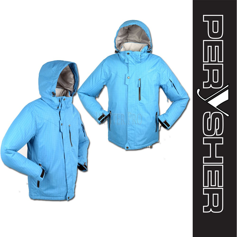 PERYSHER Dimension Blue Mens Snowboard Jacket / Ski Jacket