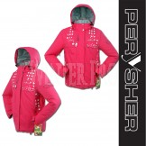 PERYSHER  Zara V2 Womens Pink Snowboard Jacket / Ski Jacket for Ladies