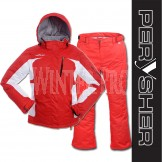 PERYSHER Ladies Snowboard / Ski Suit: Racer V2 Jacket & Liberty Pants [ Coke Red Set ]
