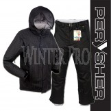PERYSHER Mens Snowboard / Ski Suit [ Black Dimension Jacket & Performance Pants ]
