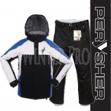 PERYSHER Performance Mens Snowboard / Ski Jacket & Pants Combo Suit Blue & Black