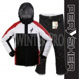 PERYSHER Performance Mens Snowboard / Ski Jacket & Pants Combo Suit | Red & Black